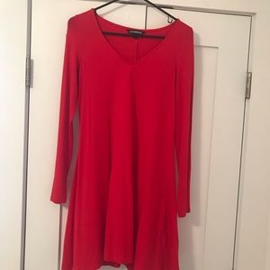 Express long sleeve dress